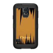 CUSTOM OtterBox Defender Series Case for Samsung Galaxy S5 - Orange Blac... - $49.48
