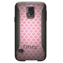 CUSTOM OtterBox Commuter Series Case for Samsung Galaxy S5 - Pink White ... - $39.58