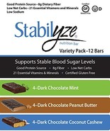 Stabilyze Low GI Nutrition Bar Variety Pack - $33.99