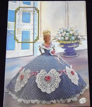 Annie's Attic Potter Fashion Bed Doll Miss February Crochet Pattern 1992 - $5.89