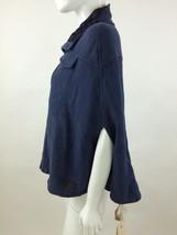 RPP 110£ Diesel Women's Fedusa Overcoat Kimono Color Blue Size S 00BYF - $37.47
