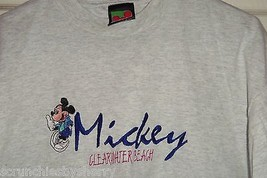 Disney Mickey Unlimited  T-Shirt  Clearwater Beach  Florida T Shirt Size XL - $34.95