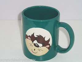 Taz Tazmanian Devil Green Coffee Mug Cup Warner Bros Studio Store Retire... - $15.97