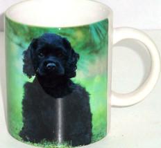 Black Cocker Spaniel Coffee Mug Dog Tea Soup America Favorite Pure Breed  - $34.95