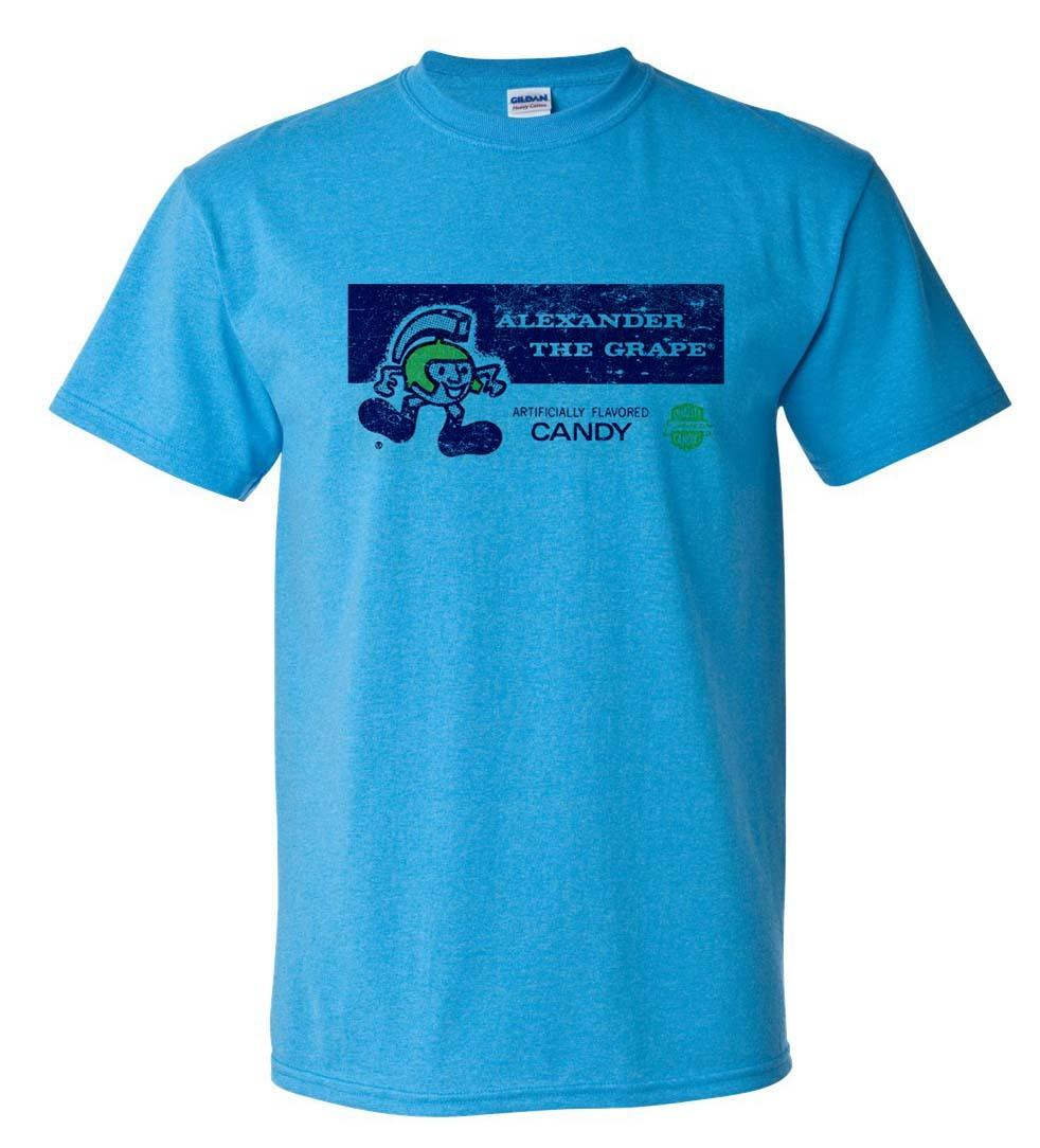 Alexander Grape T Shirt Free Shipping Retro Vintage Style