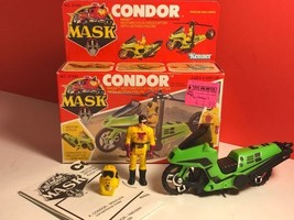 1986 M.A.S.K. CONDOR ACTION FIGURE MOTORCYCLE H... - $173.25