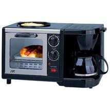 Sunpentown 3-in-1 Breakfast Maker Stainless Ste... - $54.14