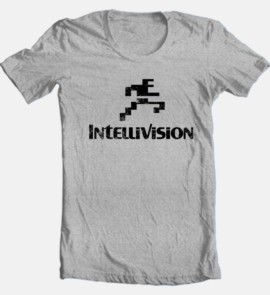 Intellivision T-shirt Free Shipping retro 80's vintage ...