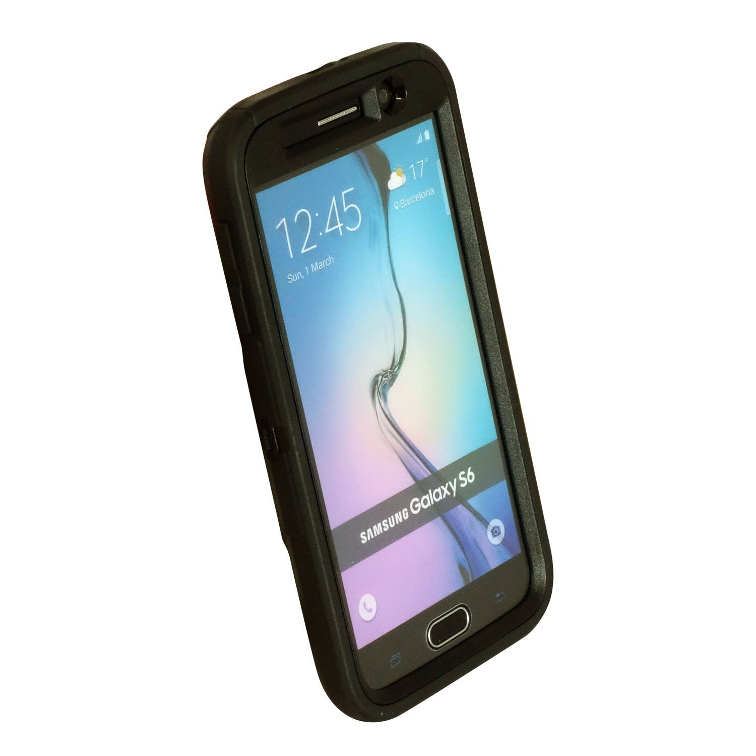 often have click otterbox defender series samsung galaxy s6 case black
