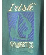 Jansport Notre Dame Fighting Irish Gymnastics Crewneck Sweatshirt M Embr... - $19.79