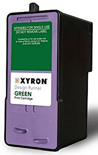 Xyron Design Runner Green Print Cartridge