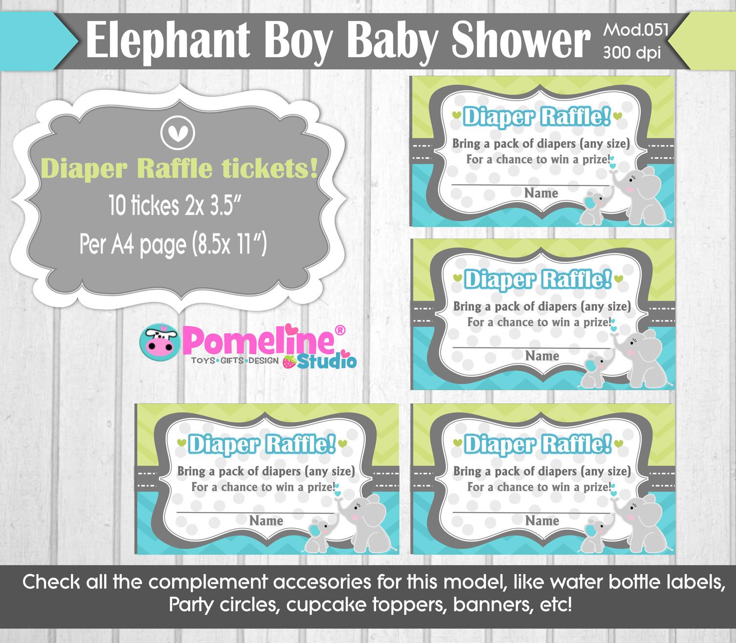 printable little peanut baby shower invitation free diaper raffle