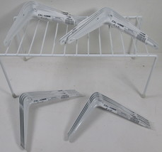 "16 Cal Hawk Tools 4"" x 5"" Shelf Bracket - White - $12.34"