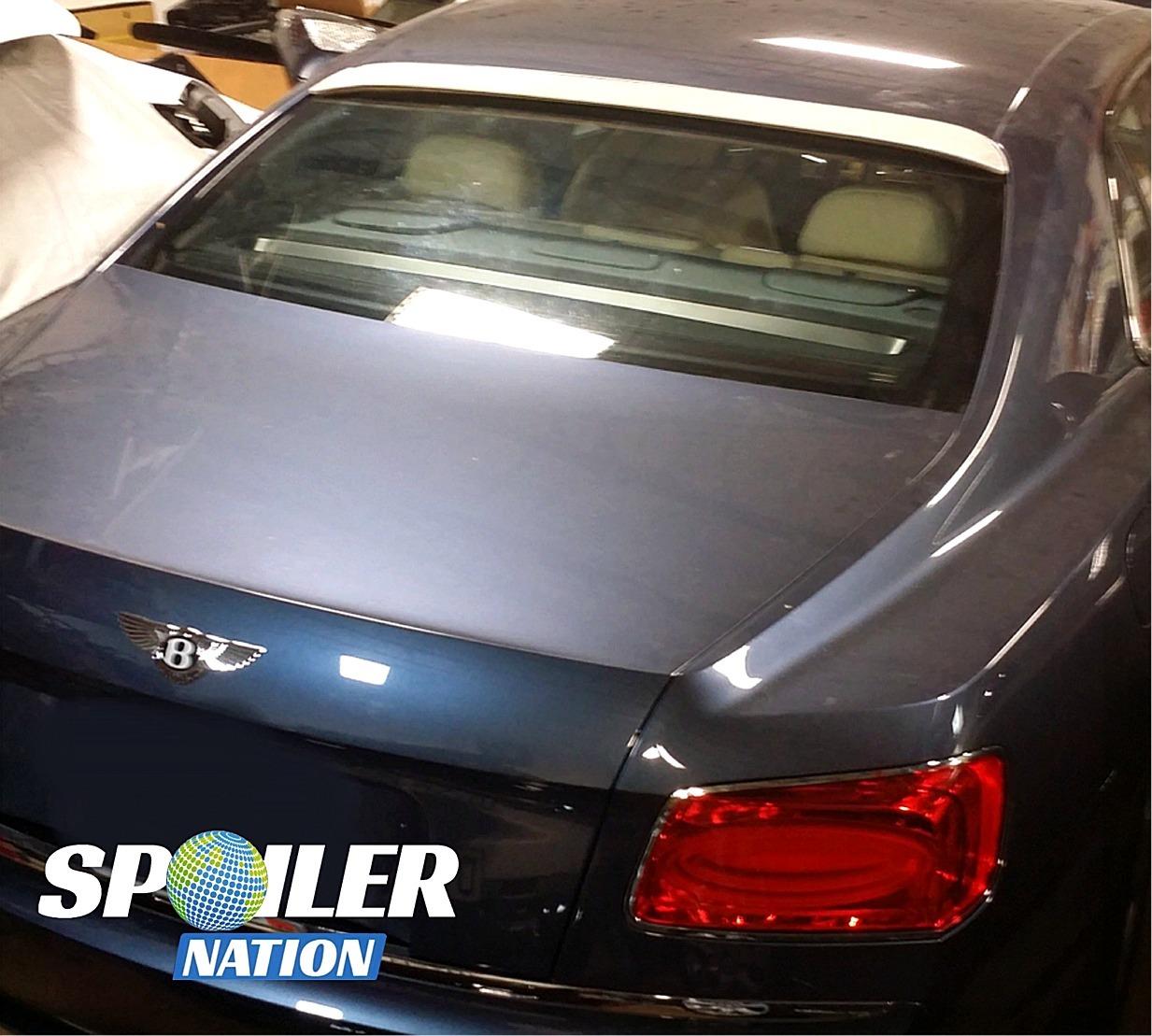 Bentley Flying Spur Tuning Ab 2015: Bentley Flying Spur Tesoro Rear Window Spoiler (Unpainted