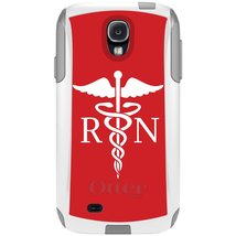 CUSTOM White OtterBox Commuter Series Case for Samsung Galaxy S4 - RN Re... - $39.58