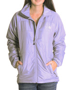 S North Face Ashlie Gray Full Zip Front 100% Po... - $67.32
