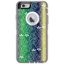 CUSTOM Grey / White OtterBox Defender Series Case for Apple iPhone 6 PLU... - $54.43