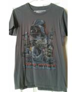 Boy Juniors Gray Star Wars T Shirt Sz Small 100 % Cotton  - $14.99