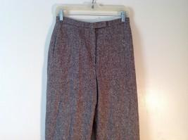 Ladies Charter Club Petite Brown Tweed Pants Size 8P image 2