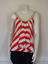 Diane Von Furstenberg Anette Fire Cracker Fish Tube Top Blouse - Us 12 - Uk 16 - $95.66