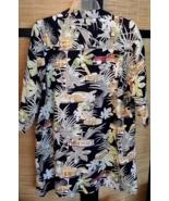 WOODY Wagons mens Hawaiian floral shirt XL black County Seat woodies - $7.00