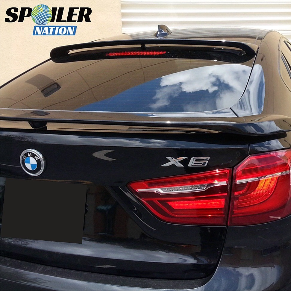 Bmw X6 Price 2015: BMW X6 Sport Style Rear Window Roof Line Spoiler