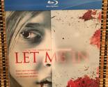Let Me In (Blu-ray, 2011)+Rare Clear Plastic Slipcover.Vampires.Dir<Cloverfie