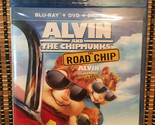 Alvin and the Chipmunks 4: The Road Chip (2-Disc Blu-ray/DVD, 2016)Dir<Wild H