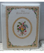 Vintage HALLMARK Our Wedding Keepsake Scrapbook Photo Album - $15.00