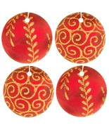 Red Christmas Ornament Car Air Fresheners, 4 Pack - $14.99