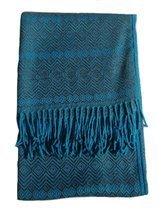 Alpakaandmore, Throw Blanket Peruvian Alpaca Wool 67 X 51.20 (170 X 130 ... - ₹10,279.64 INR