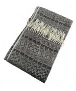 Alpakaandmore, Throw Blanket Peruvian Alpaca Wool 67 X 51.20 (170 X 130 ... - $190.53 CAD