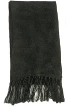 "Alpakaandmore Unisex Alpaca Wool Scarf Unicolor 63""x 4.72"" (Dark Green) - ₨3,046.21 INR"