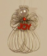 "Christmas ""JOY"" Angel Ornament Handmade New - $8.00"
