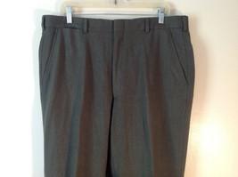 Men's POLO by Ralph Lauren 100% Wool Mossy Dark Green Pants image 2