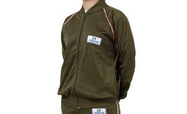 New Italian Army Tracksuit Top jacket coat military vintage retro sports... - $16.00
