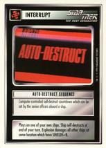 Star Trek CCG - Auto-Destruct Sequence - $0.65
