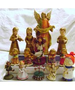 Christmas Angels Lot 1 - Russ Berrie / Gibson/ Vintage - $18.00