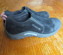 Merrell-polartec-moc-walking-shoes-size-5-black - $26.50