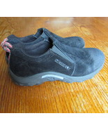 Merrell-polartec-moc-walking-shoes-size-5-black - $26.50