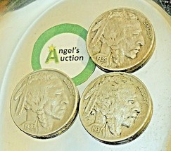 Buffalo Nickel 1935, 1936 and 1937  AA20BN-CN6089 image 2