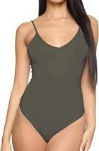 MANGDIUP Women's V-Neck/Square Neck Backless Camisole Adjustable Spaghet... - $23.46+
