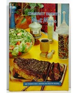 Community Favorites Meat Magic Edition 1965 Favorite Recipes - $3.99