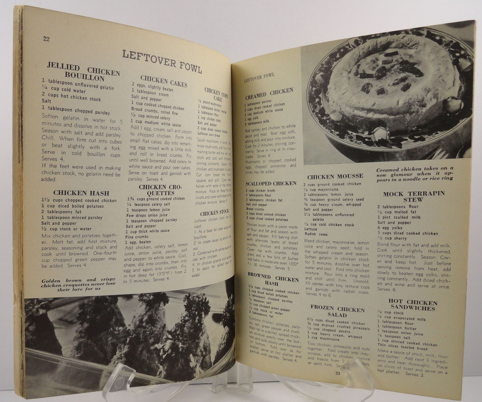 500 Delicious Dishes from Leftovers Ruth Berolzheimer 1949