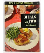 The Meals for Two Cook Book  Ruth Berolzheimer 1950 - $3.99