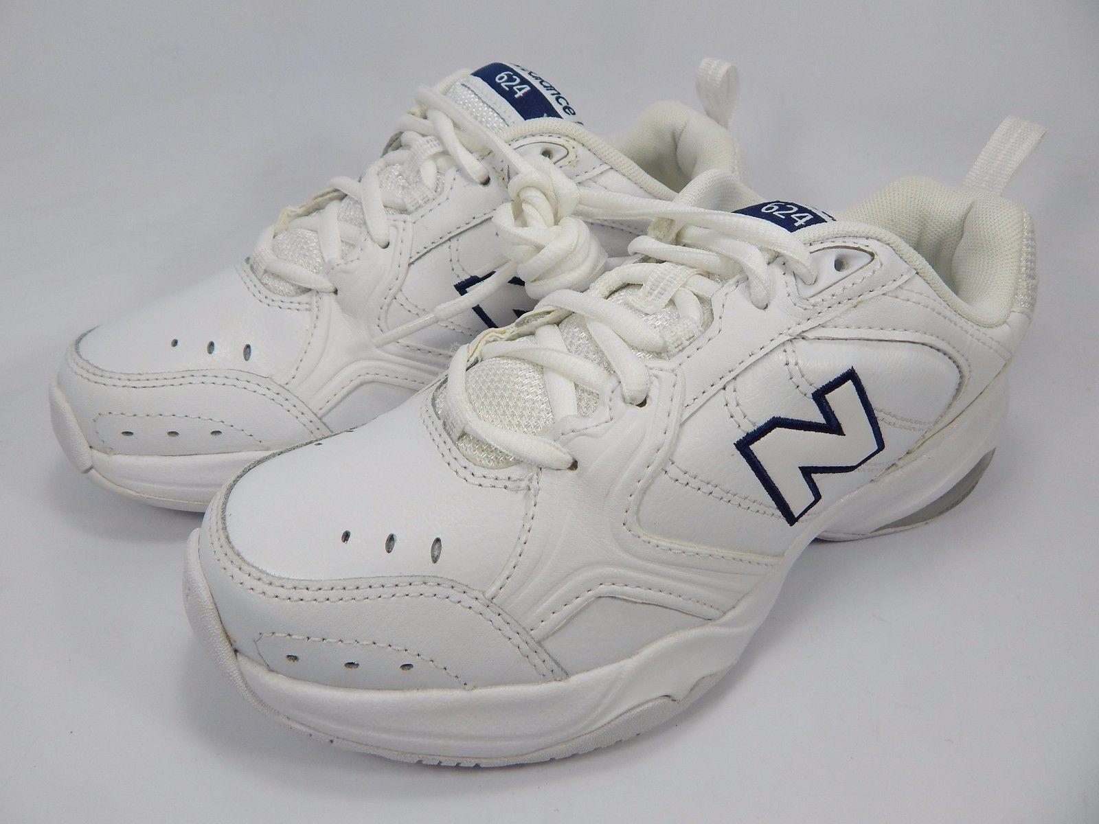 New Balance 624 v2 Women's Cross Training Shoes Sz US 7 D WIDE EU 37.5 WX624WT2