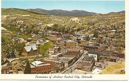 Historic Central City, Colorado, Vintage Postcard - $3.00