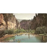 Hanging Lake, Glnwood Canyon, Colorado, Vintage Postcard - $3.00