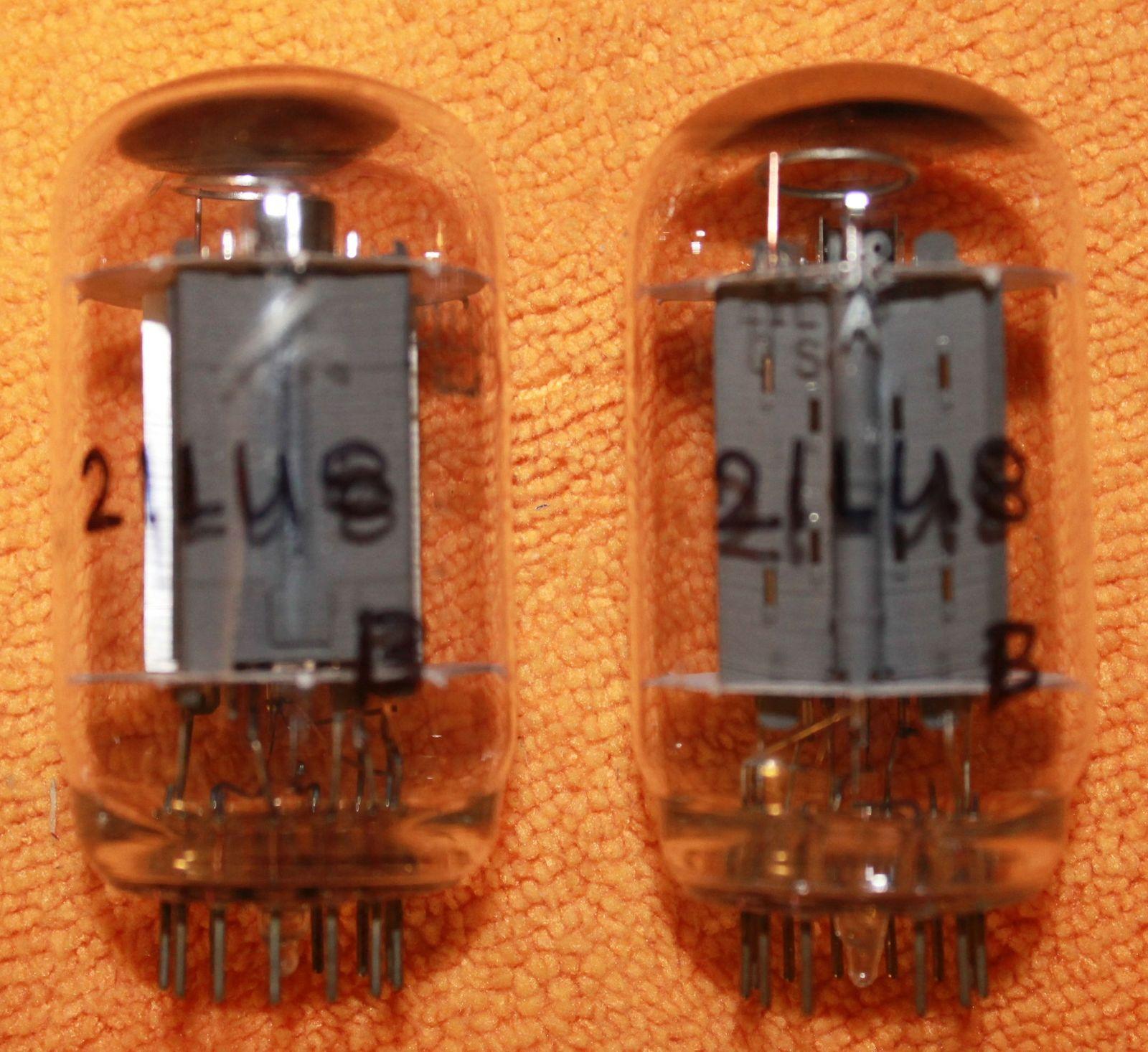 Vintage Radio Vacuum Tube (one): 21LU8 - Tested Good