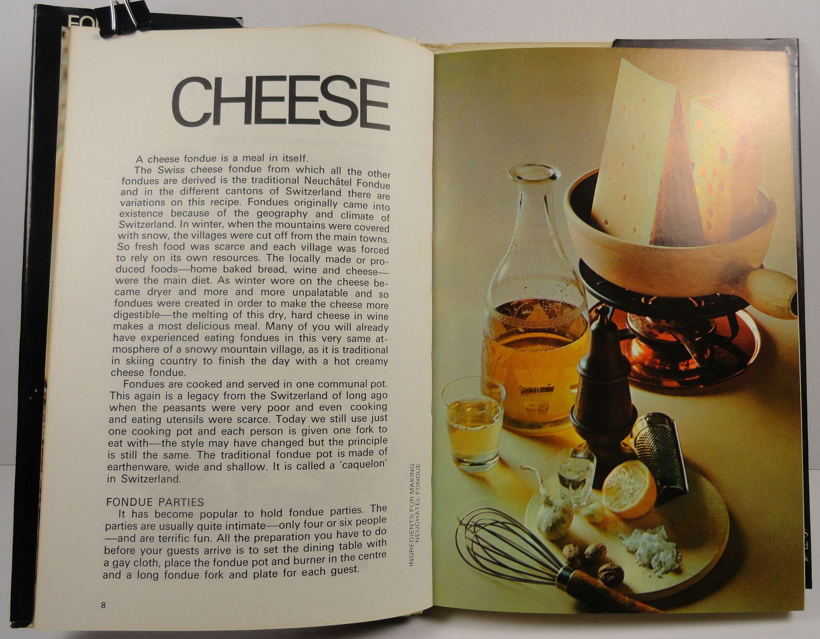 Fondue Cookery by Alison Burt 1977 HC/DJ
